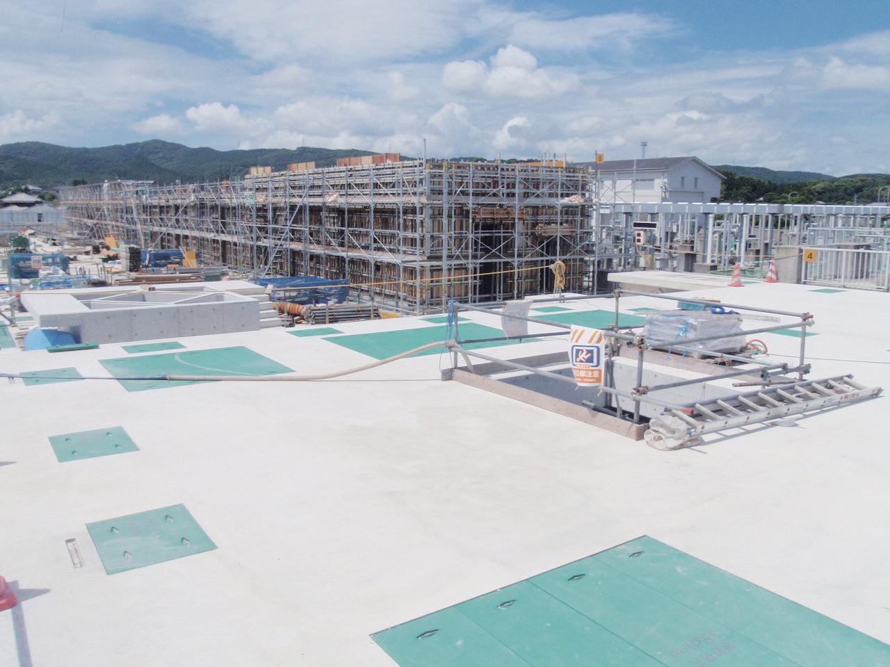 遠賀川下流流域下水道事業水処理施設