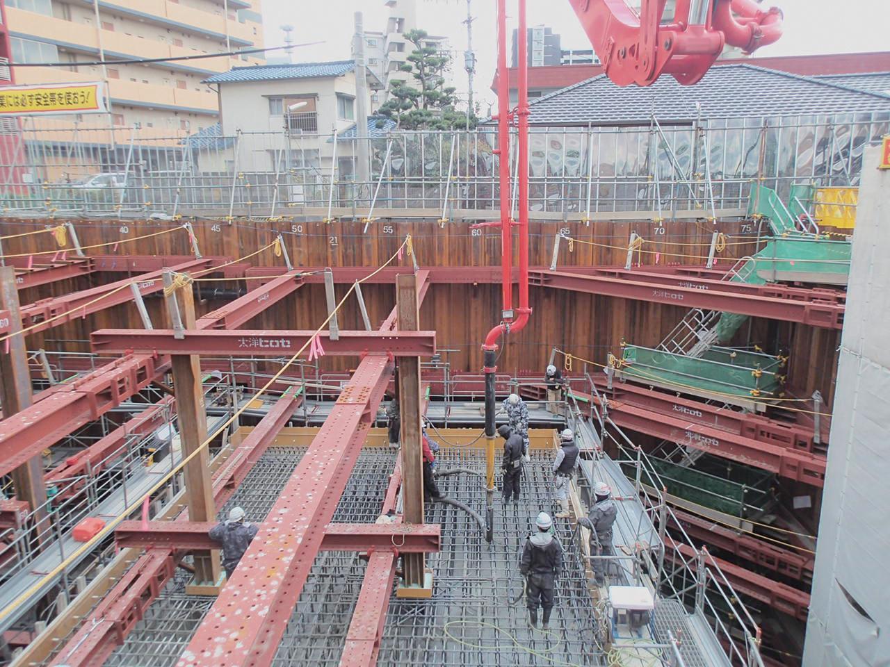 砂津長浜線道路改良工事 (29-2)