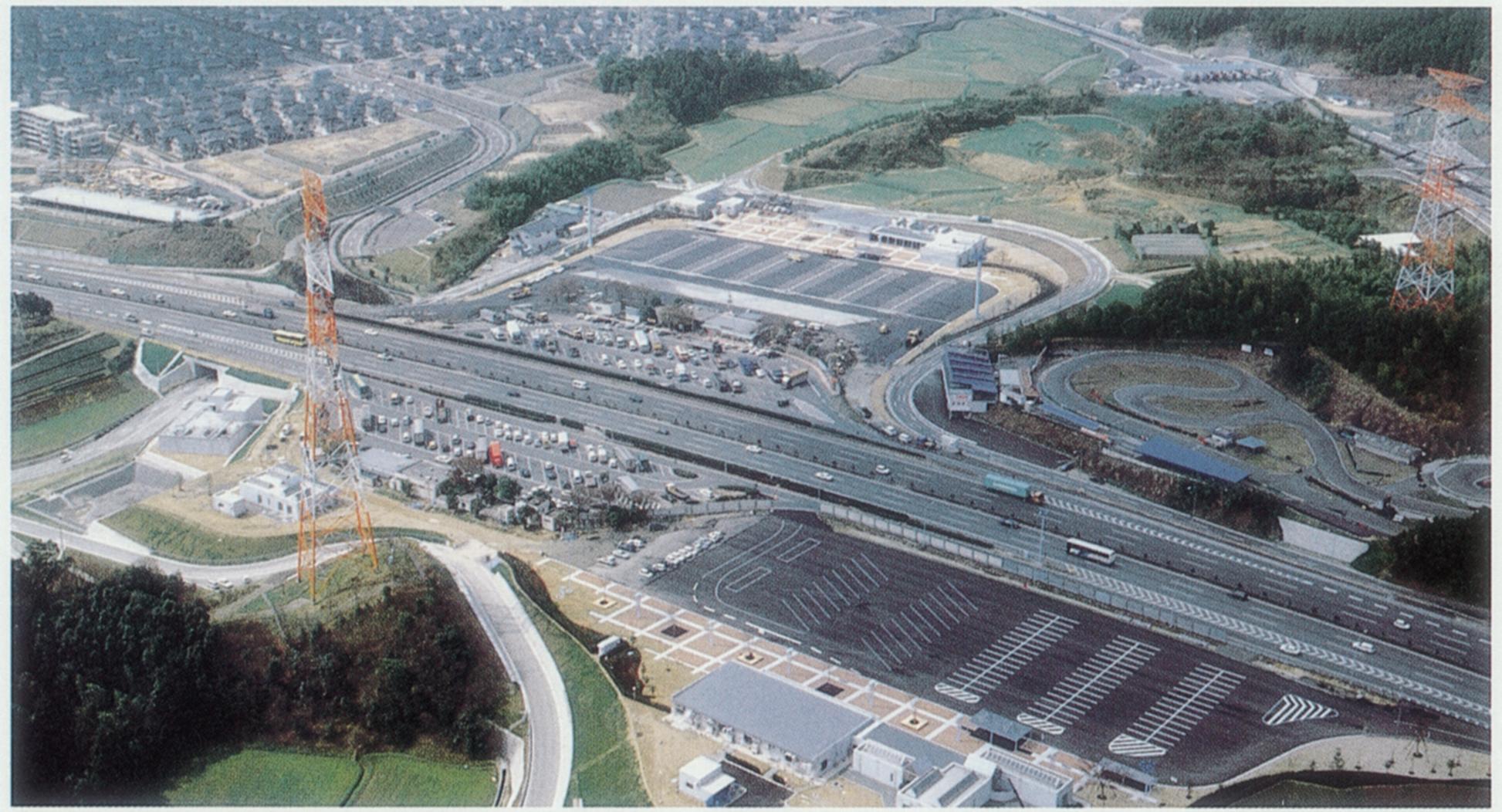 九州自動車道基山PA改良工事