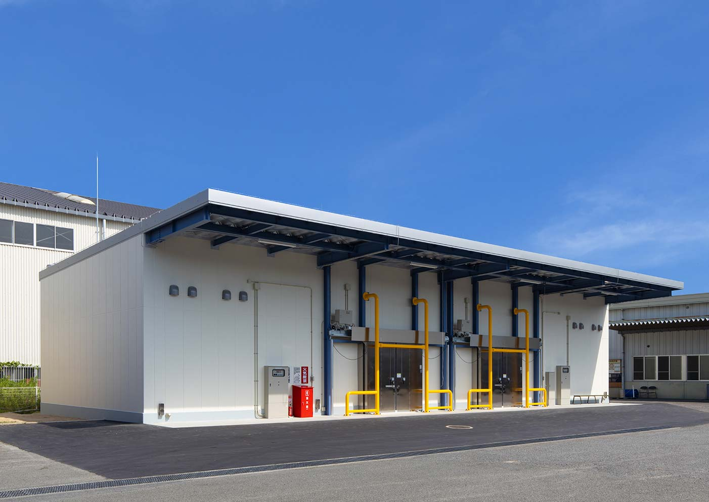 エア・ウォーター・マテリアル株式会社 東広島物流センター 第3危険物倉庫