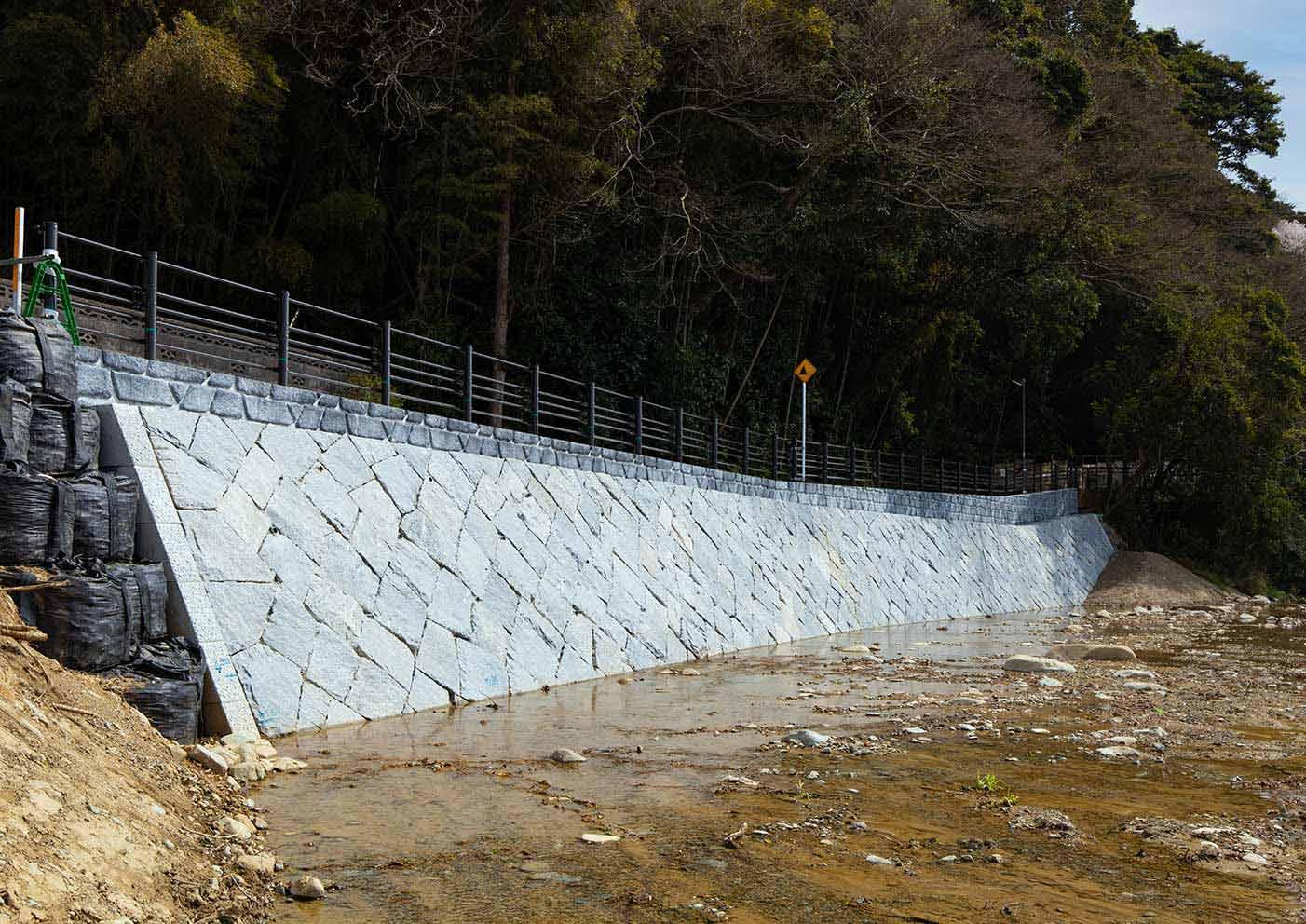 紫川(ふるさと区間)護岸工事(2-1)